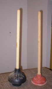 toilet plungers